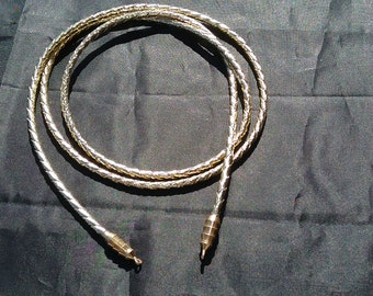 GMBCWT104g - Metallic Gold bolo cord with Tip - 38 inch long