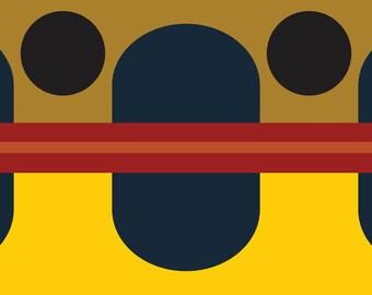 GOLDEN TROUT FLAG