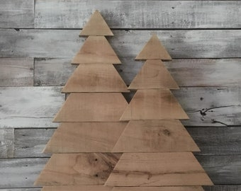 pallet wood christmas tree