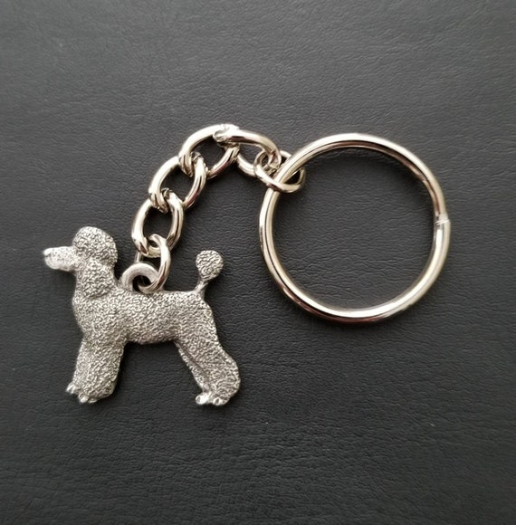 Keychain Silhouette Poodle