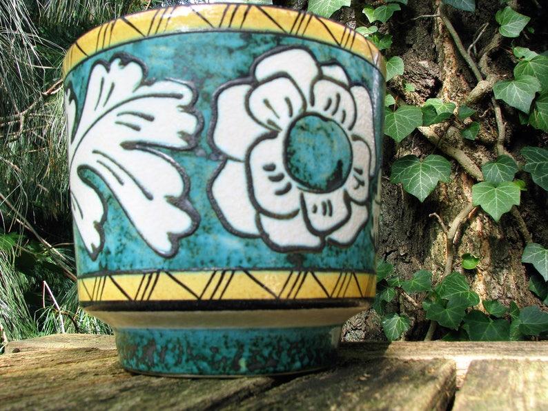 Fohr Übertopf planter cachepot 60er 60s 70er 70s Design west german pottery wgp