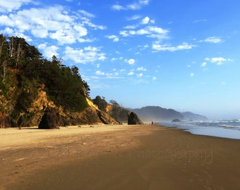 Fine Art BEACH Landscape Photograph; Seascape photography, OCEAN art, beach decor, dreamy landscape, beach photograph; 5x7 8x10 11x14 16x20