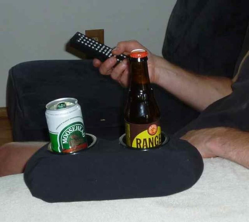 Couch Car Cup Holder. Drink Holder. The BevBandit Black