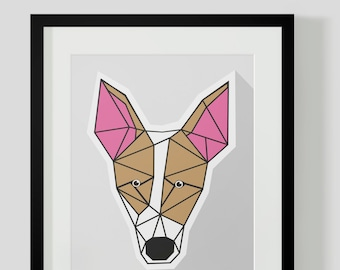 Jack Russell Terrier Dog Print Artwork