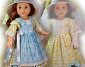 PDF Doll Clothes Dress Pattern Beekeeper Fits 18 quot Dolls Such as American Girl, Tonner My Imagination by Luminaria Designs