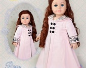 Titanic 18 Inch Doll Clothes PDF Sewing Pattern For American Girl Rose Edwardian Dress Gown Luminaria Designs