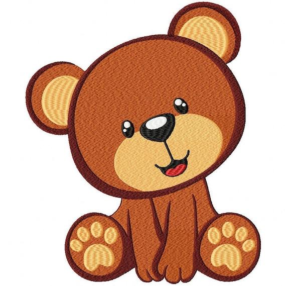Teddy Bear Embroidery Design File Vip Vp3 Hus Pes Pec Etsy