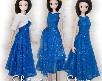 "BJD Doll Clothes Pattern Fits 23.5"" Mirai SMARTDOLL 1/3 SD Smart Doll Ball Jointed Dolls by Luminaria Designs"