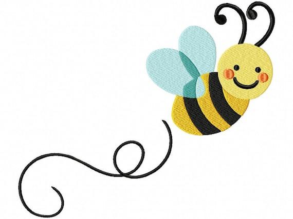 Disegno di ricamo dell'ape File VIP. VP3. Hus. PES. PEC | Etsy