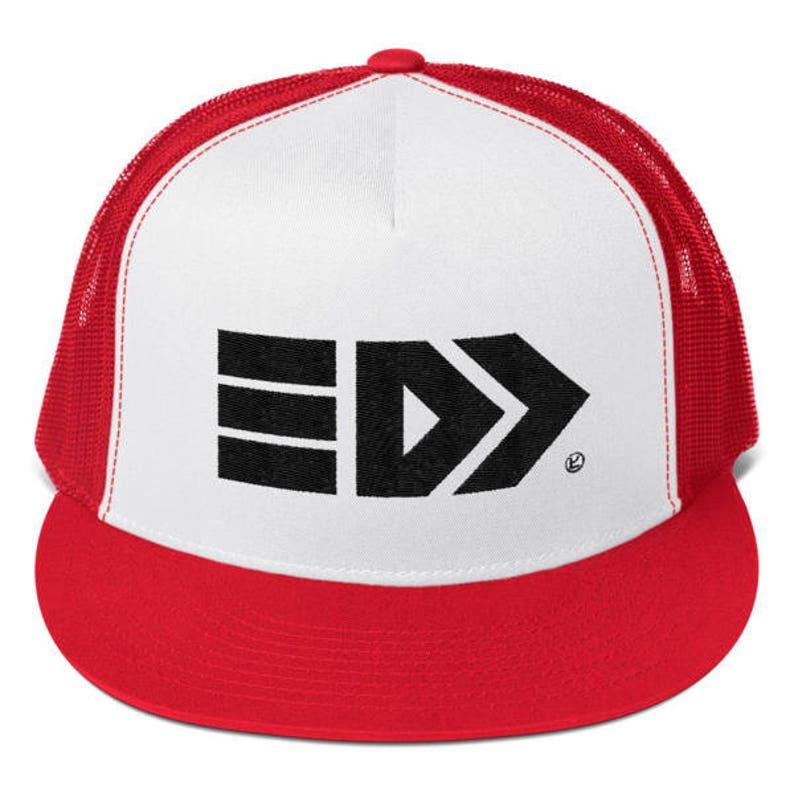 Splatoon 2 Takoroka Mesh Trucker Cap Red and White  1078ecd6ac16