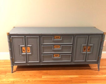 Laquer furniture Polishing Stanley Buffet Or Credenza Custom Lacquer Included Free Shipping Etsy Lacquer Furniture Etsy