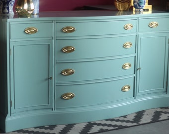 laquered furniture navy gorgeous hepplewhite buffet lacquered ready to ship free shipping furniture etsy