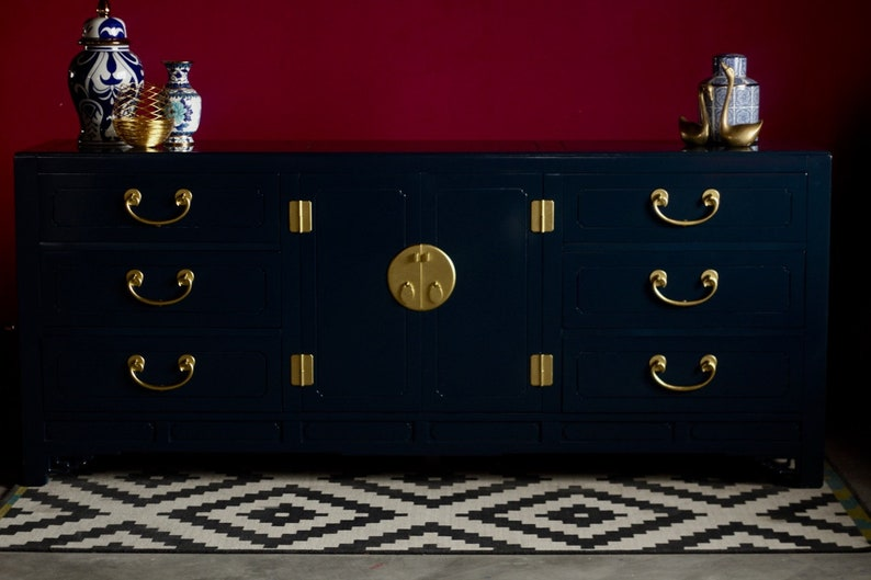Credenza Definition In English : White furniture co chinoiserie dresser or credenza etsy