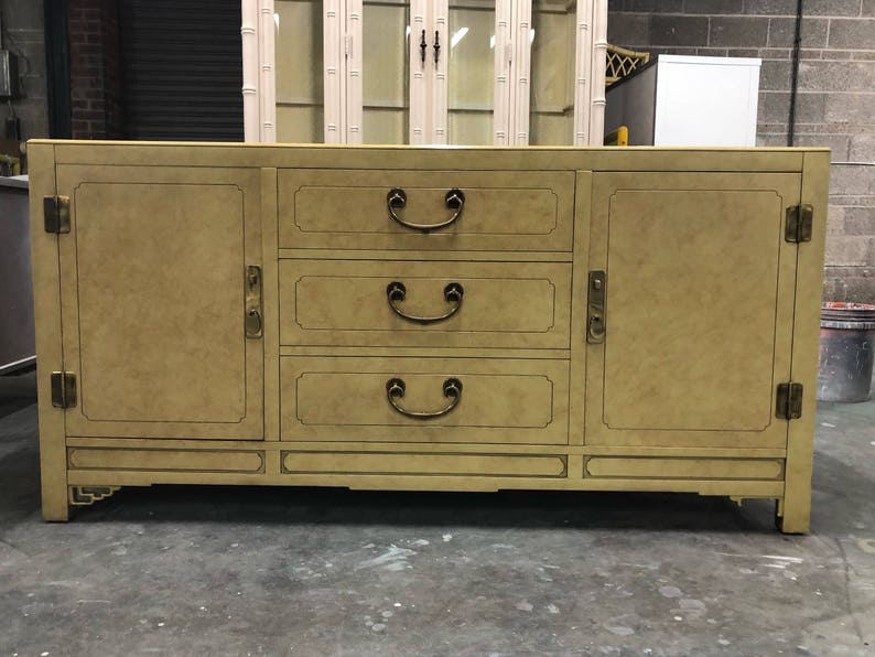 Credenza Definition In English : Chinoiserie buffet or credenza custom lacquer included free etsy