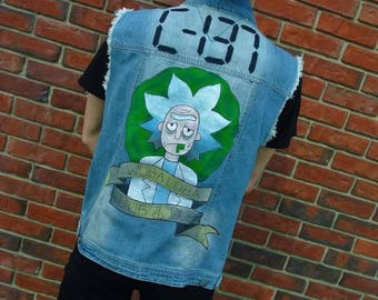 Rick and Morty Rick Punk Vest