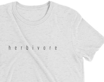 Herbivore Tee • T-shirt • Vintage • Custom • T-shirts • Funny • Womens • Mens • Plant Eater • Shirts • Hipster • Vegan • Vegetarian • Gym