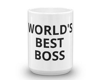 World's Best Boss The Office Michael Scott Coffee Mug TV Show Prop Halloween Costume Dunder Mifflin Paper Company Inc Office Work Gift Idea