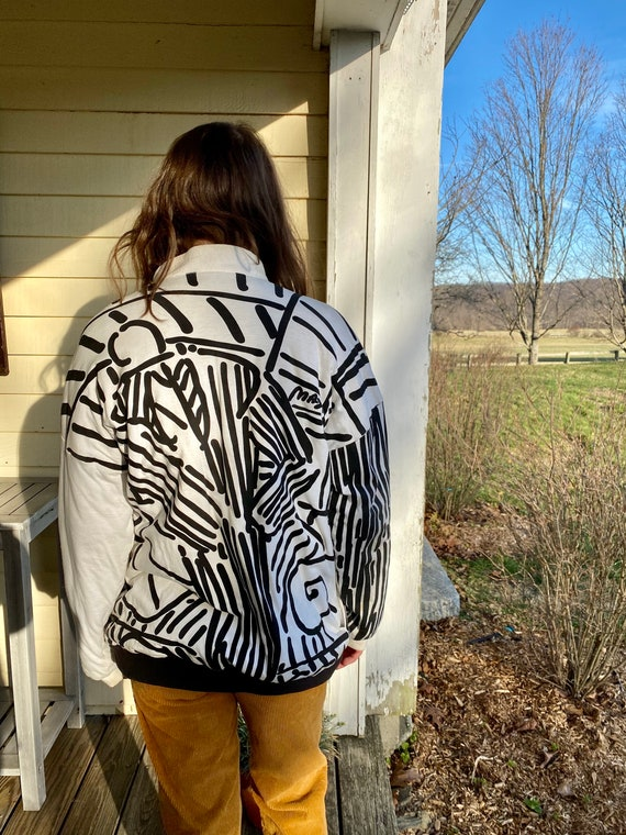 Peter Max Reversible Puffy Jacket