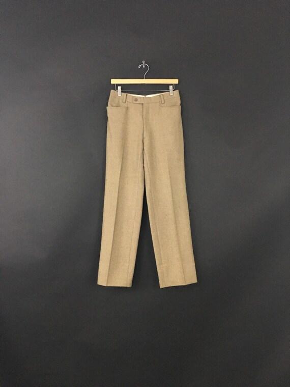Oscar De la Renta Wool Trousers