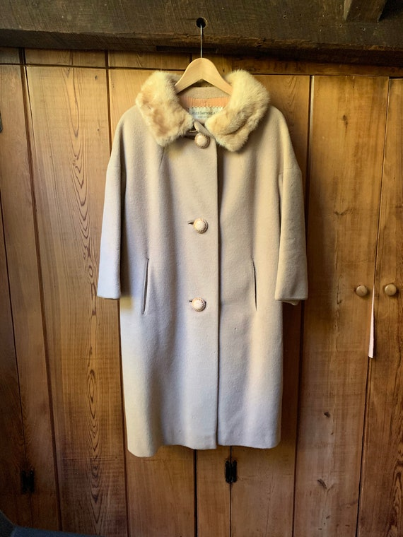 50's Frank Gallant Overcoat Union Made