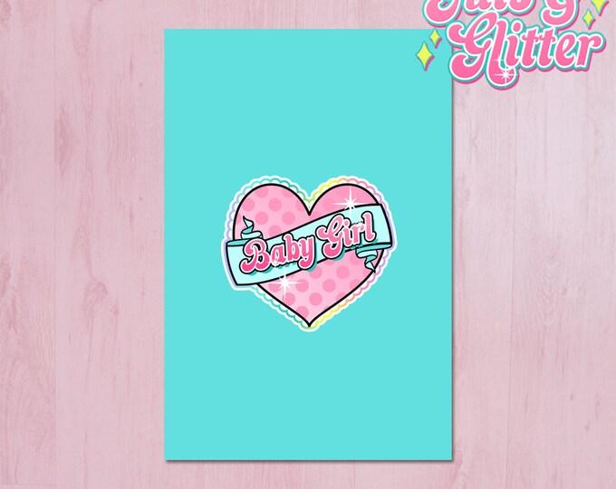Baby Girl, DDLG Mini Print