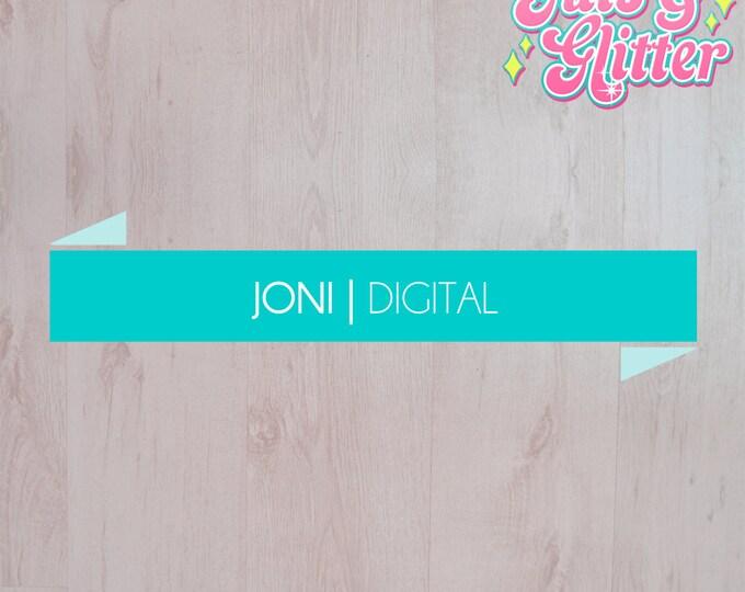 Digital Download Simple Banner Logo
