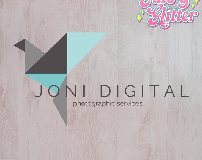 Digital Download Geometric Bird Logo