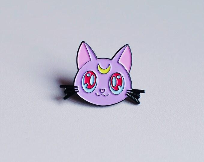 Diana Kitty Soft Enamel Pin (New Colours!)