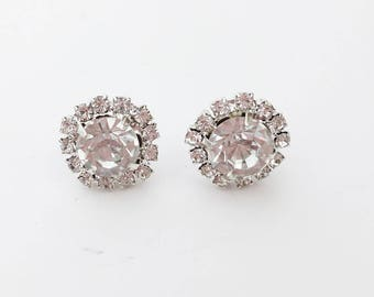 17060f79c29 Diamante earrings   Etsy
