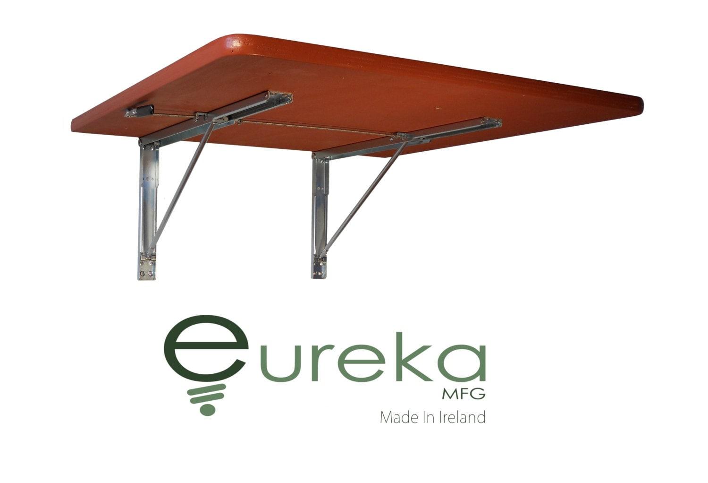 Tisch umklappen Wand-Möbel platzsparende Lösung Holz Holz