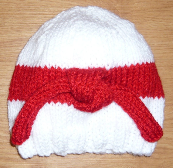 Judo Hat Knitting Pattern pdf