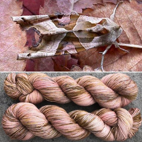Angle Shades, 4ply merino nylon sock yarn