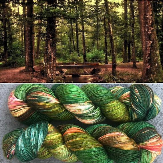 Autumn is Coming Silk, indie dyed merino sock yarn