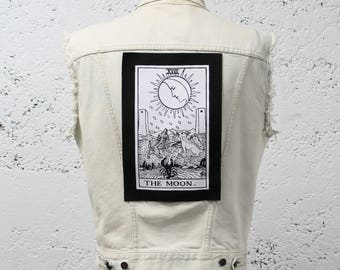 The Moon Tarot Card Back Patch