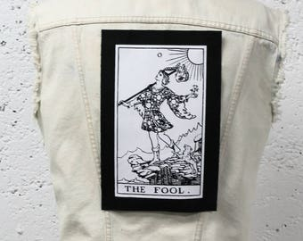 The Fool Tarot Card Back Patch