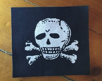 Skull and Crossbones Patch - taken from an old poison label
