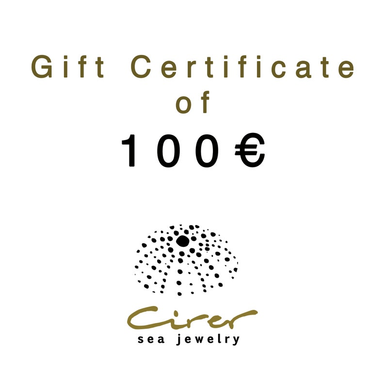 Gift Certificate for Cirer shop in value of 100 euro image 0