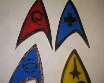 Star trek inspired pins
