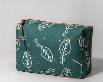 Vanity case, zipper pouch