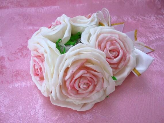 Décoration de cheveux chignon, chignon de mariée, chignon de fille de fleur, danse récital chignon, Ballet Bun Wrap