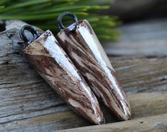 Handmade Marbled Spikes