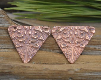 Handmade  Copper Victorian Components