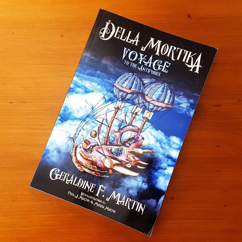 Steampunk Novel for Young People  Della Mortika: Voyage to image 1