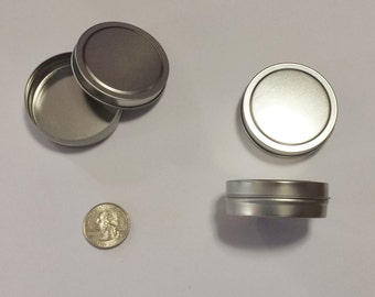 1 oz slipcover tin set of 5 (30 ml) lip balms, salves, candies, candles