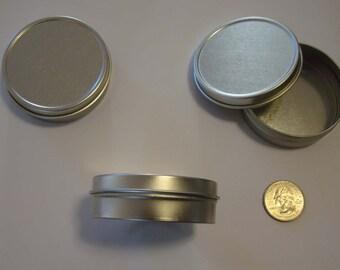 2 oz slipcover tin set of 5 (60 ml) lip balms, salves, candies, candles