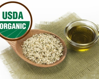 Hemp Seed Oil - Virgin Organic