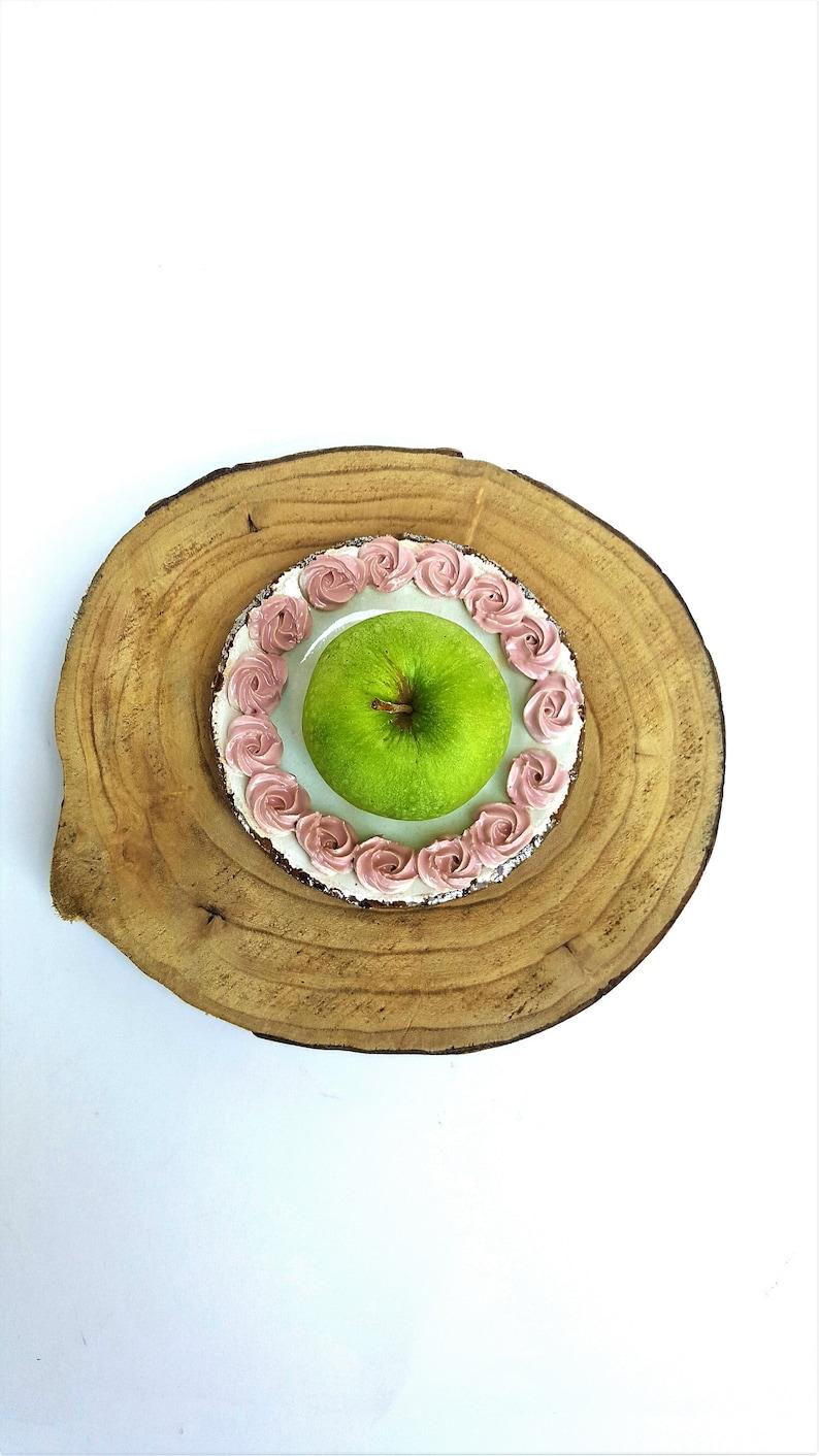 Round pearl /& Pink Handmade Pottery Dish