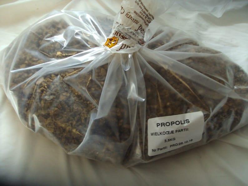 Wholesale Lot Fresh Select Bee Raw PROPOLIS 10 Kilo = 22.4 Lb Pounds   Tatra Mountains Poland GMO free