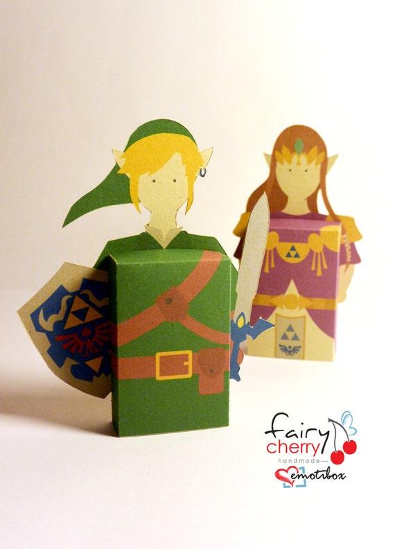 Zelda Link Emotibox Fridge Magnet Geek Card Birthday Card Etsy