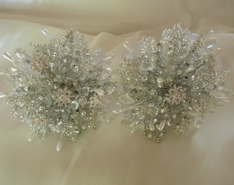 2 x bridesmaids bouquets for Louise.